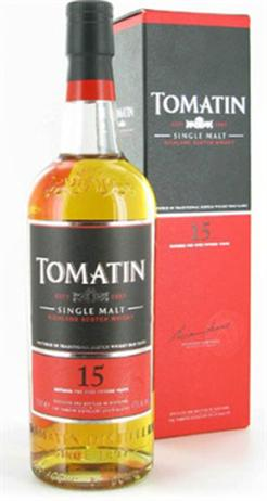 Tomatin Scotch Single Malt 15 Year